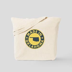 Made in Oklahoma Tote Bag
