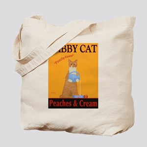 Tabby Cat Peaches and Cream Tote Bag