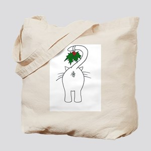 Season's Greetings From Our Cat Tote Bag