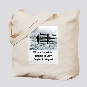 Winter in... Tote Bag