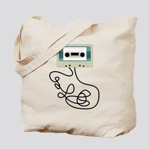 Loose Cassette Tape Loops Tote Bag