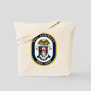 Uss Zumwalt Ddg-1000 Tote Bag