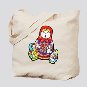 Nesting Dolls Tote Bag