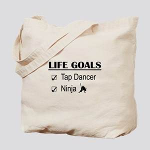 Tap Dancer Ninja Life Goals Tote Bag