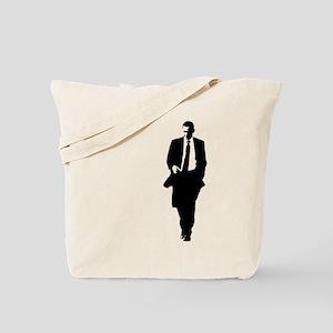 Big Obama Silhouette Tote Bag