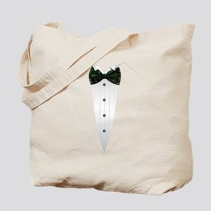Tuxedo (woodland camo) Tote Bag