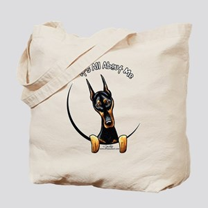 Doberman IAAM Tote Bag