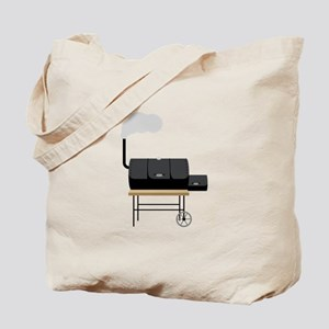 Barbeque Smoker Tote Bag