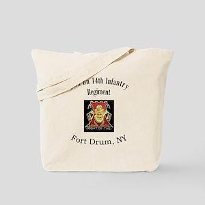 2nd 14th Inf Reg Tote Bag