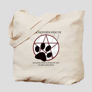 Hell Hounds Rescue wt Tote Bag