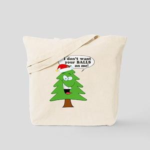 Christmas Tree Harassment Tote Bag