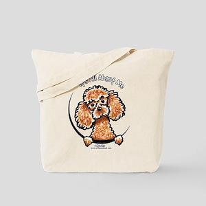 Apricot Poodle IAAM Tote Bag