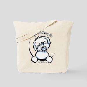Coton de Tulear IAAM Tote Bag