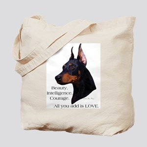 Dobe-Add Love Tote Bag