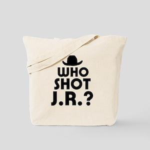'Who Shot J.R.?' Tote Bag