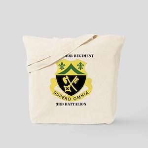 3rdBn81stArmorRgt-text Tote Bag