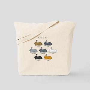 Flemish Giant Rabbit Tote Bag