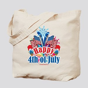 Happy 4th of July Tote Bag