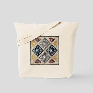 Geometric Circles Tote Bag