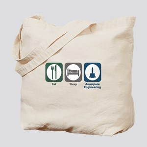Eat Sleep Aerospace Engineering Tote Bag