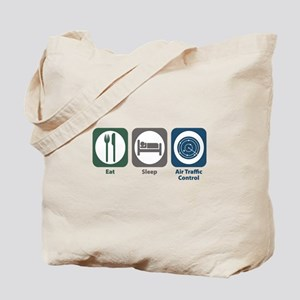Eat Sleep Air Traffic Control Tote Bag