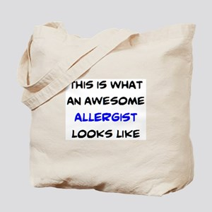 awesome allergist Tote Bag