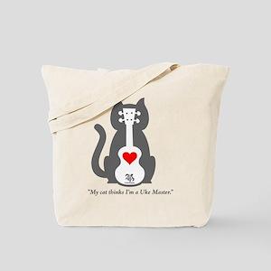 Cat Uke Tote Bag