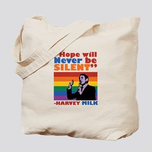 Hope Will Never Be Silent Tote Bag