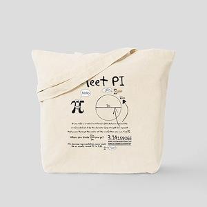 Meet Pi Tote Bag