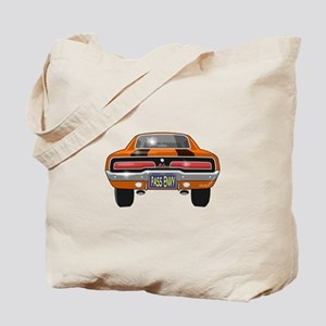1969 Charger Bumper Tote Bag