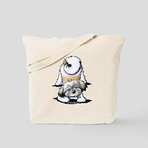 Playful Havanese Tote Bag
