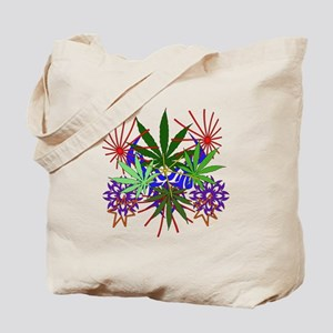 Marijuana Art Tote Bag