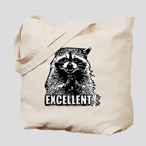 Excellent Raccoon Tote Bag