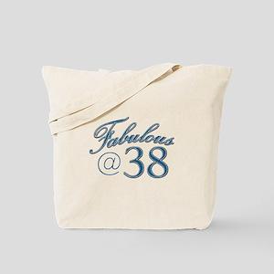 Fabulous at 38 Tote Bag