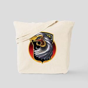 Screamin' Eagles Badge Tote Bag