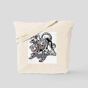 ARNG-127th-Infantry-HHC-Hellhound-Black-W Tote Bag