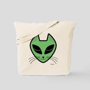 AlienKitty Tote Bag