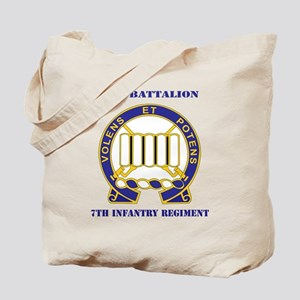 DUI - 3rd Battalion 7th Infantry Regiment Tote Bag