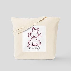 dog & bone Tote Bag