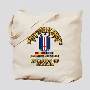 Just Cause - 193rd Infantry Bde w Svc Ri Tote Bag