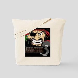 Pirate Says AARRGG Tote Bag