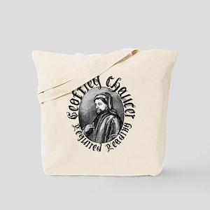 Geoffrey Chaucer Tote Bag