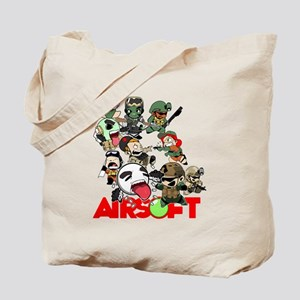 Airsoft Battle Royale Tote Bag