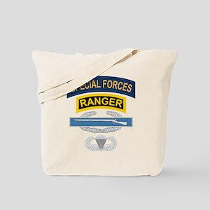 SF Ranger CIB Airborne Tote Bag