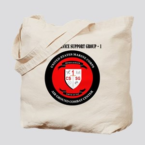 Combat Service Support Group - 1 with Tex Tote Bag