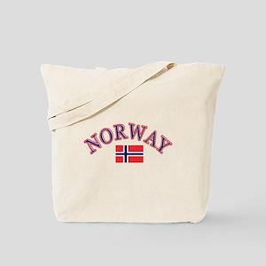 Norway Soccer Designs Tote Bag