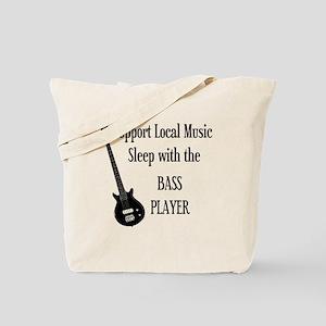 sleep with the bass player 1 Tote Bag