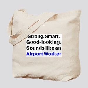 airport worker sound Tote Bag