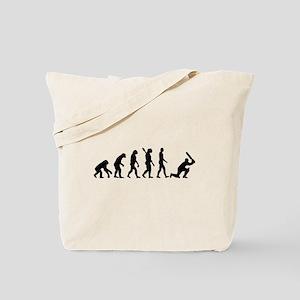 Evolution Cricket Tote Bag