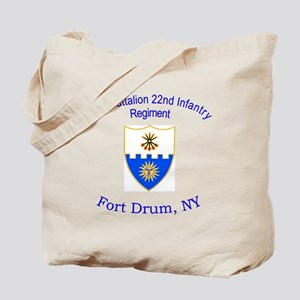 2nd Bn 22nd Inf Reg Tote Bag